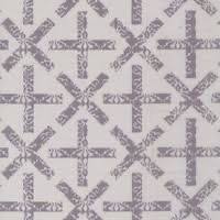 Alison Glass - Art Theory - Pale grey with dark grey crosses and pluses 9704 L