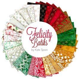 ****New In!*** Felicity Batiks by Kate Spain- Moda Jelly Roll JR27311