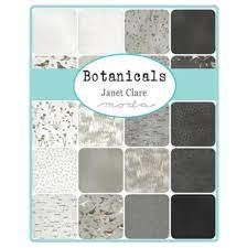 Botanicals by Janet Clare for Moda Jelly Roll