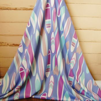 SURF BOARD FABRIC WITH INTEGRAL DIM OUT LINING 096C