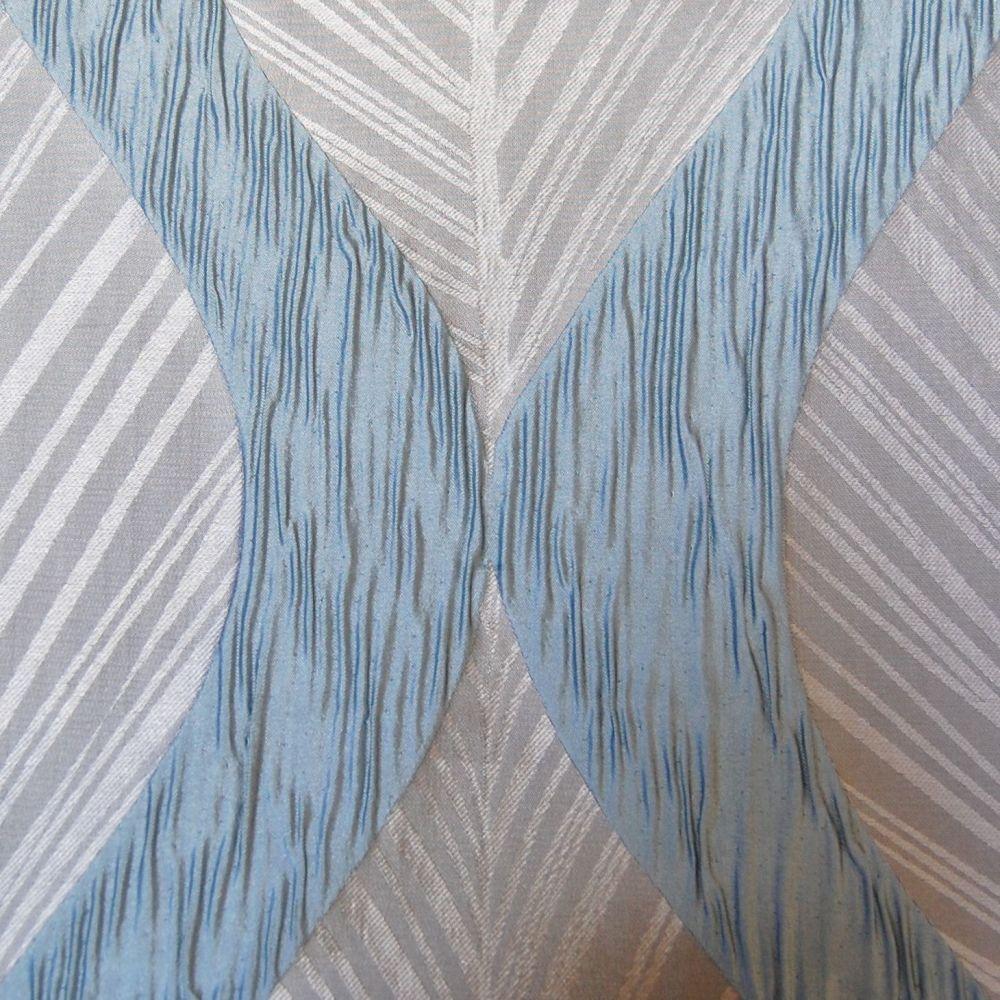 10 Metre Roll Deal Duck Egg Blue Fancy Weave Curtain