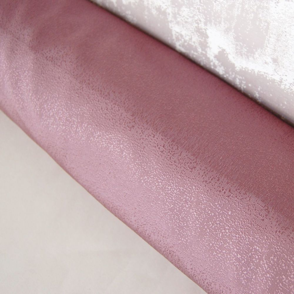 3 PASS BLACKOUT THERMAL CURTAIN FABRIC, 56 INCH WIDE (MAUVE PURPLE)