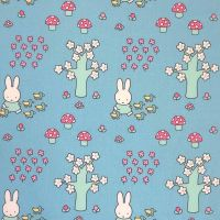 MIFFY WALK IN THE PARK 100% COTTON BY THE COTTON CRAFT CO'.