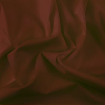FINE PLAIN DYED POLY COTTON FOR DRESS MAKING, CRAFTS ETC, DARK BROWN.
