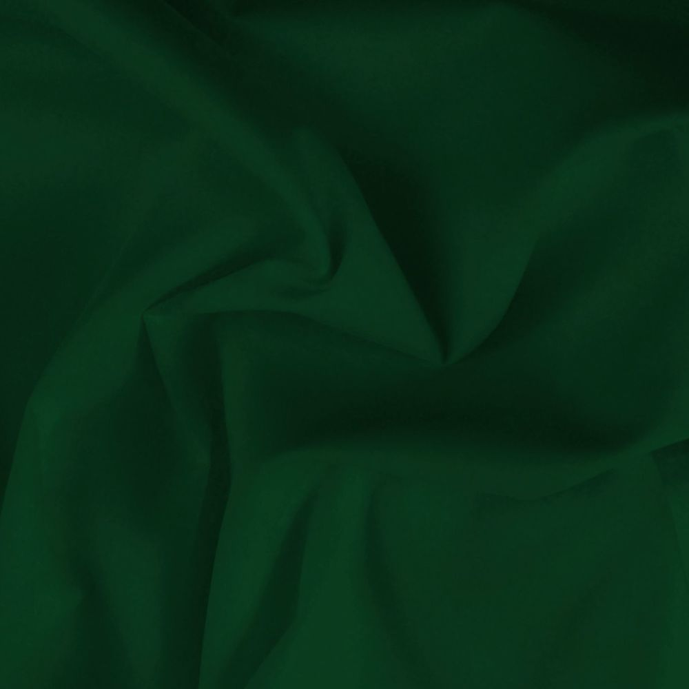 FINE PLAIN DYED POLY COTTON FOR DRESS MAKING, CRAFTS ETC, DARK SAGE.
