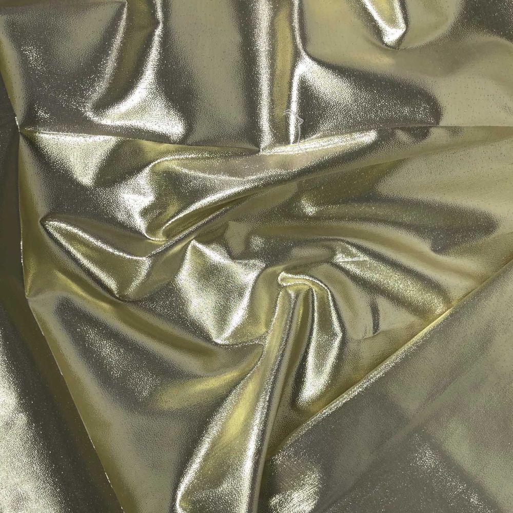 METALLIC SHEER IN GOLD FOR DANCE WEAR, COSTUMES, DRAPING ETC.