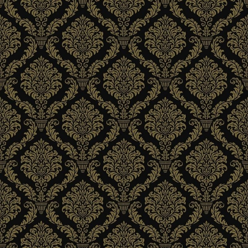 8 INCH COTTON SQUARE,  GOLD TILE