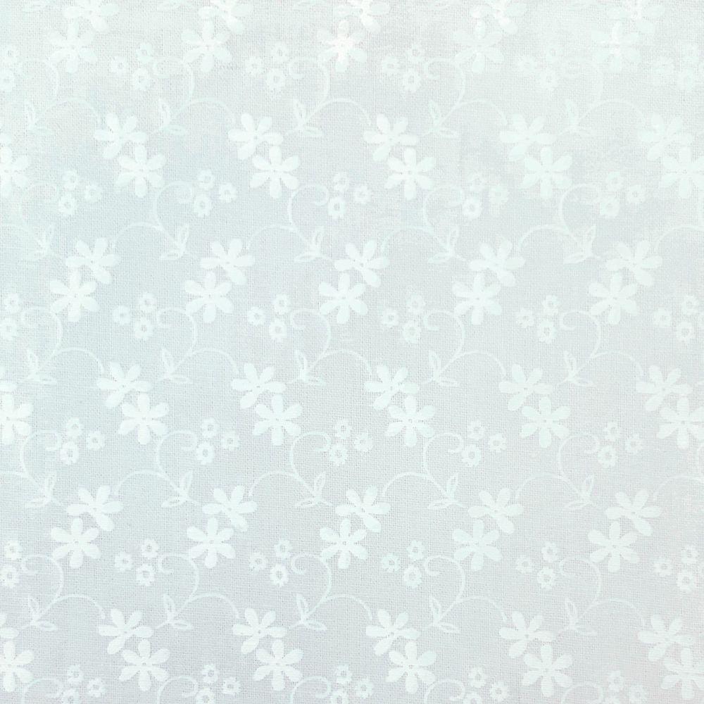 ESSENTIALS DAISY IN WHITE, 100% COTTON.