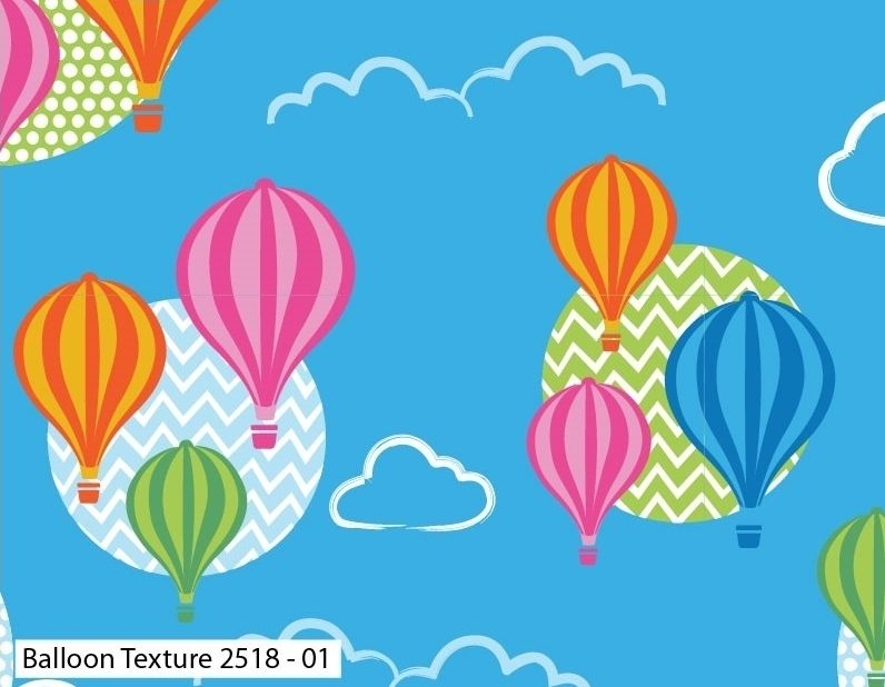 BALLOON TEXTURE ON 100% COTTON BY THE COTTON CRAFT CO'.