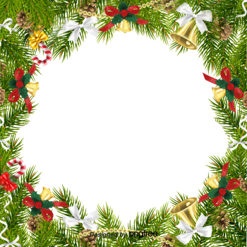 8 INCH COTTON SQUARE,  CHRISTMAS FRAME (OPTION C).