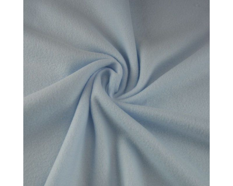 BABY BLUE POLAR FLEECE, ANTI PILL, 56 INCH WIDE.