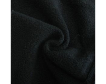 BLACK POLAR FLEECE, ANTI PILL, 56 INCH WIDE.