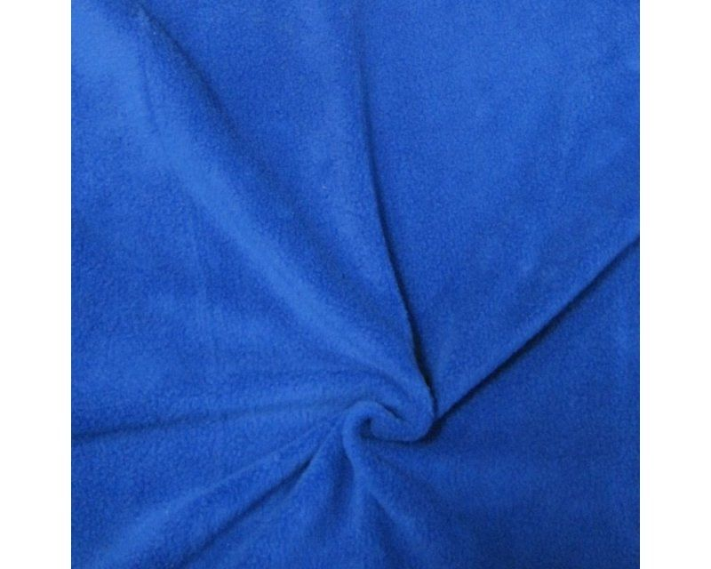 ROYAL BLUE POLAR FLEECE, ANTI PILL, 56 INCH WIDE.