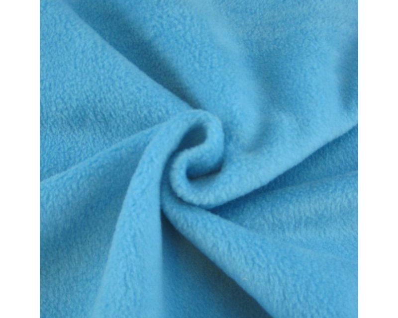 TURQUOISE POLAR FLEECE, ANTI PILL, 56 INCH WIDE.