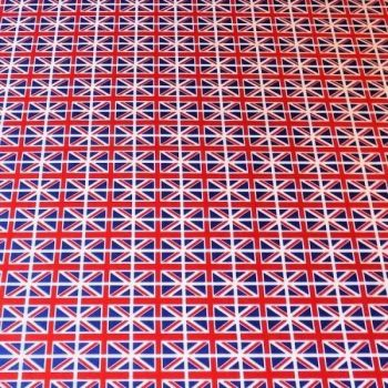 ROSE AND HUBBLE UNION JACK 100% COTTON POPLIN.