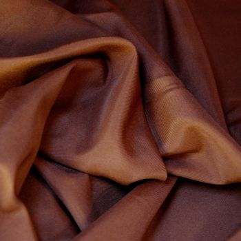 REDUCED TO CLEAR POLY COTTON FOR DRESS MAKING, CRAFTS ETC, CHOC BROWN.