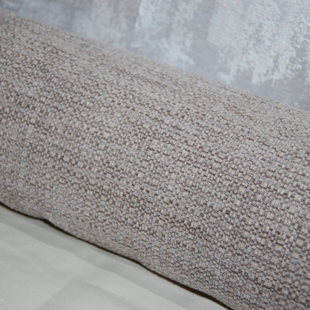 UPHOLSTERY FABRIC PALE LINEN WEAVE, SOLD BY THE PIECE.