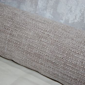 UPHOLSTERY FABRIC MINKY BROWN VELVET CHENILLE, SOLD BY THE PIECE.