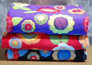 FLOWER CUDDLE FLEECE SPECIAL OFFER BUNDLE