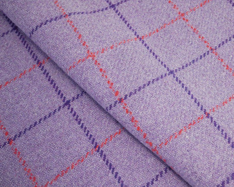 WOOL MIX CHECK FOR BAG MAKING, TAILORED CLOTHES AND SOFT FURNISHINGS