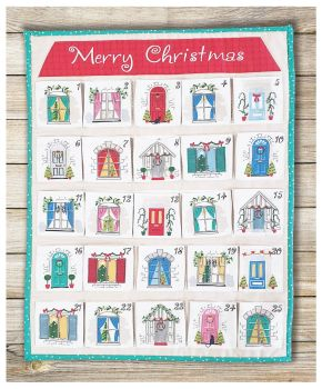 MAKE YOUR OWN CHRISTMAS ADVENT PANEL BY THE COTTON CRAFT CO'.