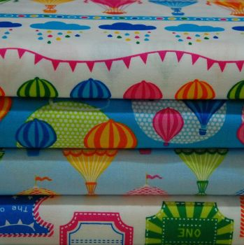 HOT AIR BALLOON COTTON BUNDLE