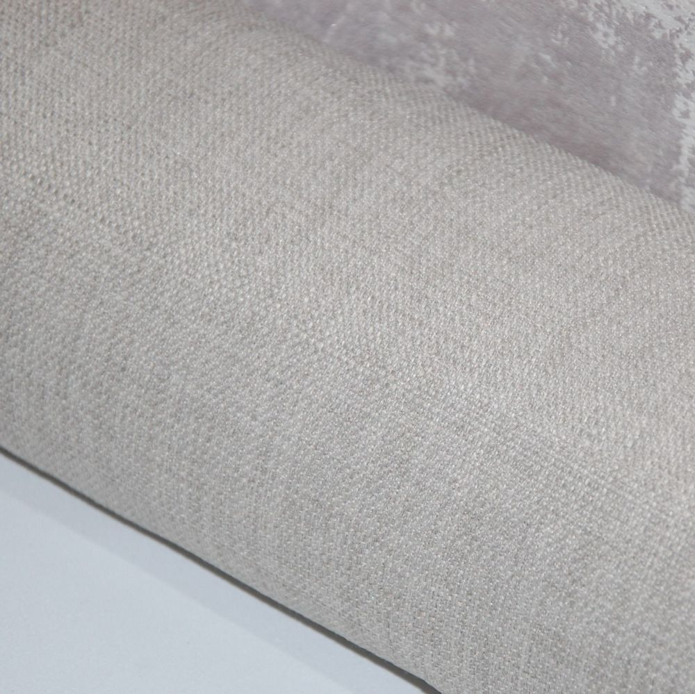 UPHOLSTERY/FURNISHING FABRIC , PALE GREY LINEN WEAVE SOLD AS A 5.5 METRE PI