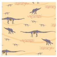 EXPLORE FOSSILS HUNT, 100% COTTON BY THE NATURAL HISTORY MUSEUM.