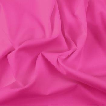 FINE PLAIN DYED POLY COTTON FOR DRESS MAKING, CRAFTS ETC, CERISE.
