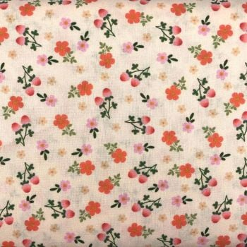 BEAUTIFUL FLORALS FROM THE CRAFT COTTON COMPANY, 100% COTTON POPLIN. FL4