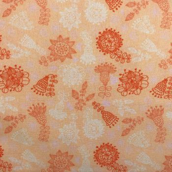 BEAUTIFUL FLORALS FROM THE CRAFT COTTON COMPANY, 100% COTTON POPLIN. FL5
