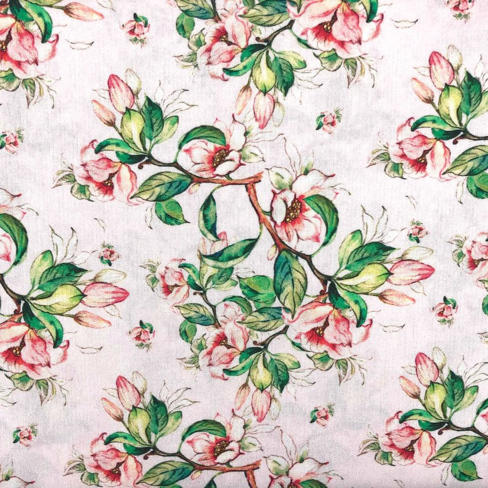 BEAUTIFUL FLORALS FROM THE CRAFT COTTON COMPANY, 100% COTTON POPLIN. FL1