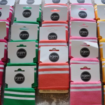 COTTON CUFF PACKS, VARIOUS COLOURS AVAILABLE.