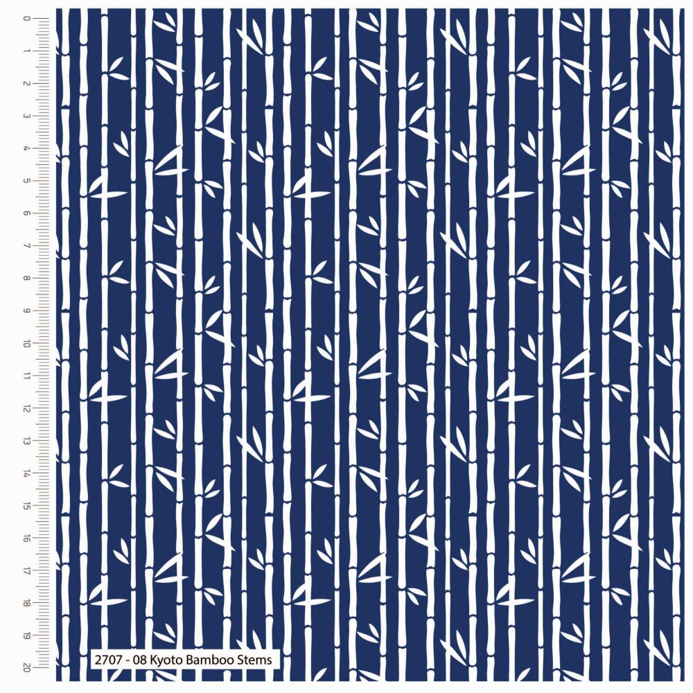 STUART HILLARD KYOTO RANGE CRAFT COTTON COMPANY, 100% COTTON. BAMBOO STEMS.