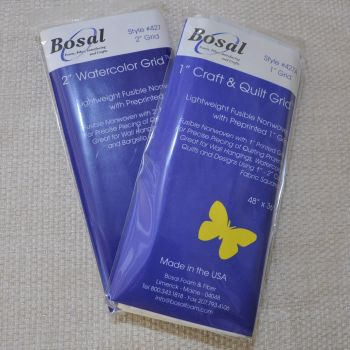 """BOSAL QUILTERS GRIDS (48"""" X 36"""") 2 INCH AND 1 INCH GRIDS AVAILABLE."""