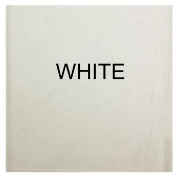 100% COTTON, HOMESPUN FOR CRAFTS, QUILTING, PATCHWORK ETC. WHITE.