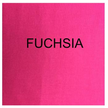 100% COTTON, HOMESPUN FOR CRAFTS, QUILTING, PATCHWORK ETC. FUCHSIA.