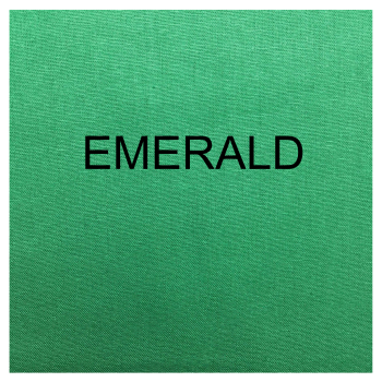 100% COTTON, HOMESPUN FOR CRAFTS, QUILTING, PATCHWORK ETC. EMERALD.