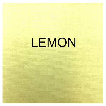 100% COTTON, HOMESPUN FOR CRAFTS, QUILTING, PATCHWORK ETC. LEMON.