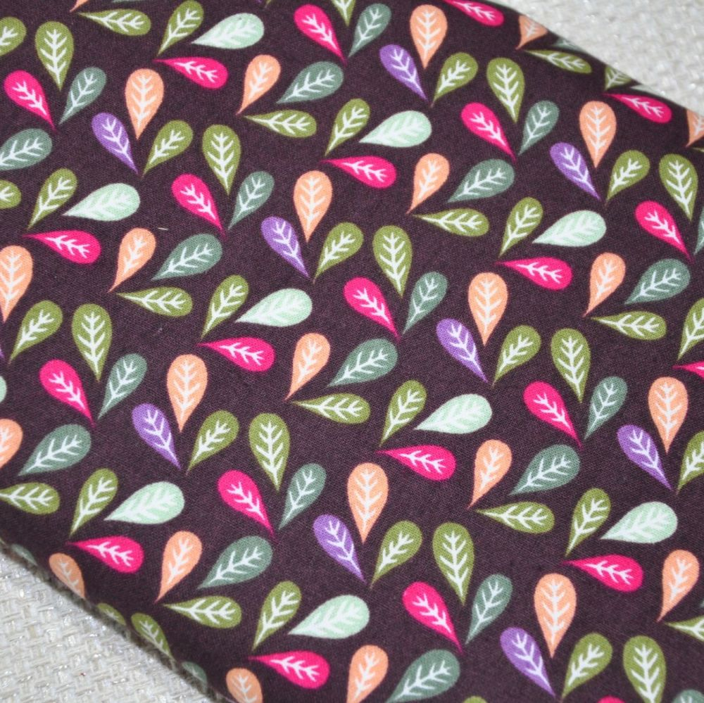 LITTLE MEADOW BIRDS 'LEAVES' FROM THE CRAFT COTTON COMPANY, 100% COTTON.