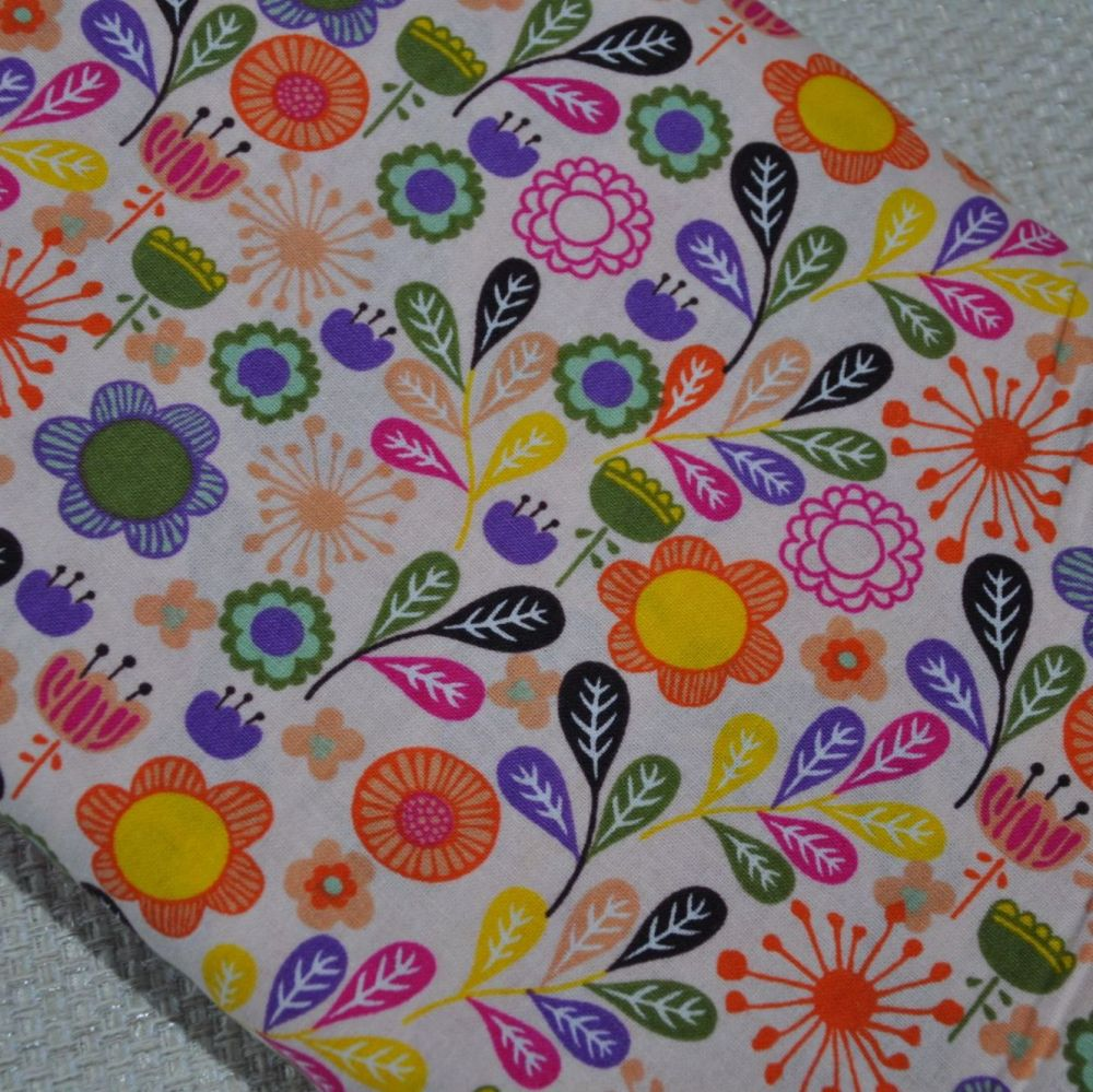 LITTLE MEADOW BIRDS 'FLOWERS' FROM THE CRAFT COTTON COMPANY, 100% COTTON.