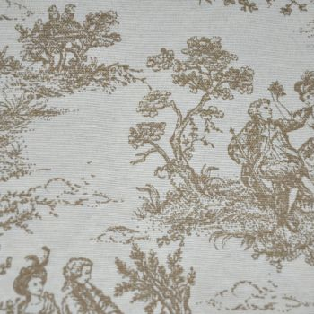 CHATHAM GLYN LINEN COTTON TOILE NATURAL FABRIC FOR SOFT FURNISHINGS ETC