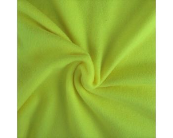CANARY YELLOW POLAR FLEECE, ANTI PILL, 56 INCH WIDE.