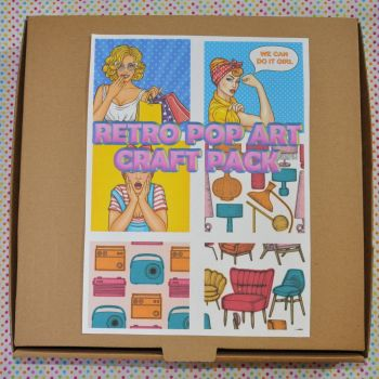 RETRO POP ART CRAFT PACK
