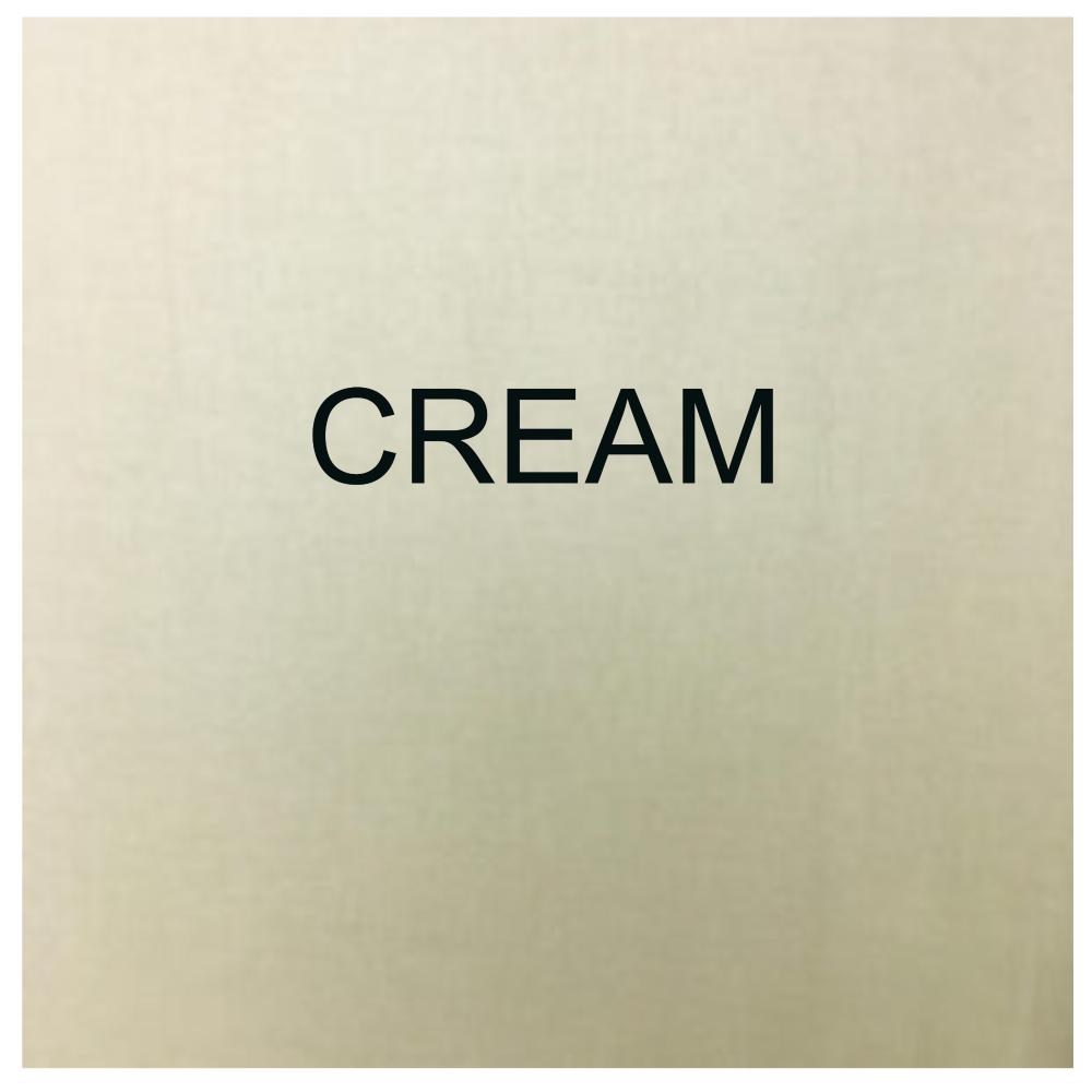 100% COTTON, HOMESPUN FOR CRAFTS, QUILTING, PATCHWORK ETC. CREAM.