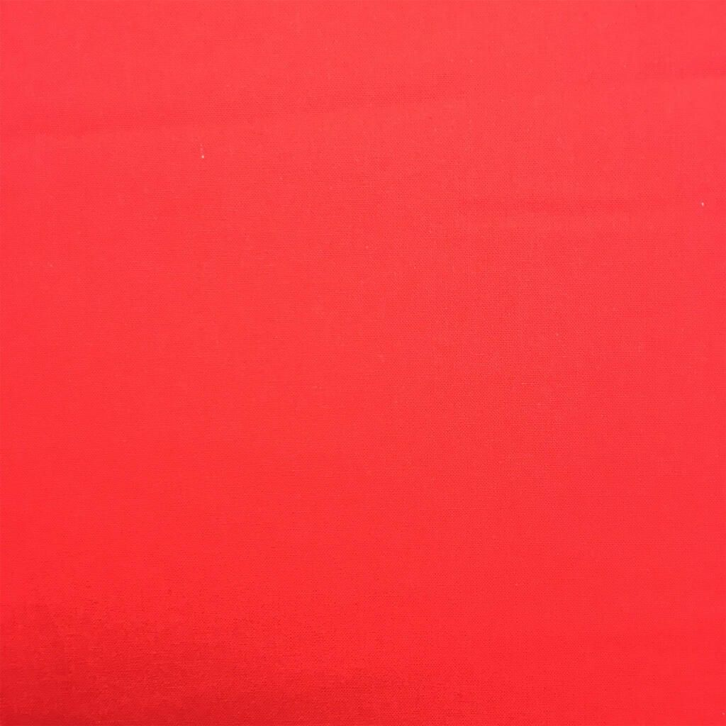 100% COTTON, HOMESPUN FOR CRAFTS, QUILTING, PATCHWORK ETC. RED