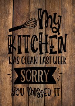 13 INCH X 8 INCH FELT PANEL, MY KITCHEN WAS CLEAN LAST WEEK. 148