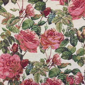CHATHAM GLYN NEW WORLD TAPESTRY, ROSAL FLORAL.