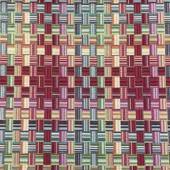 CHATHAM GLYN NEW WORLD TAPESTRY, BASKET WEAVE.