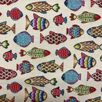 CHATHAM GLYN NEW WORLD TAPESTRY, FISH.